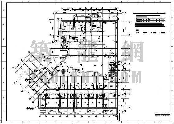 消防图管路图资料下载-某电厂综合办公楼给排水及消防施工图
