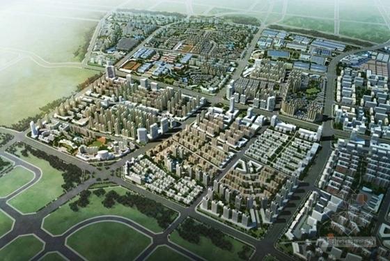 城市规划效果图