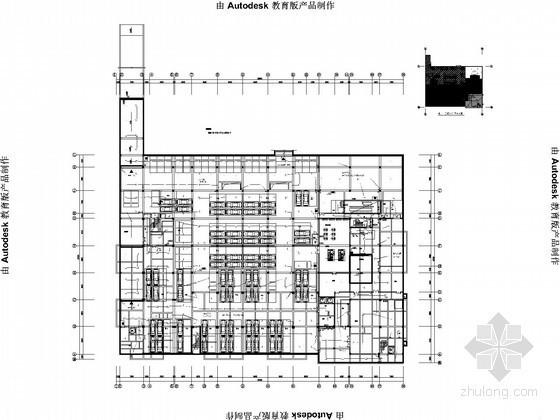 [江苏]防洪指挥中心全套电气施工图纸(最新编制)