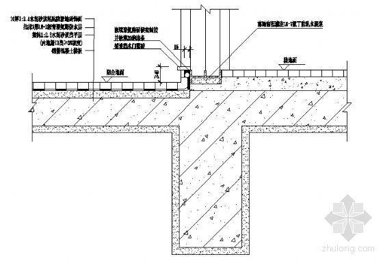 落地窗防水构造2