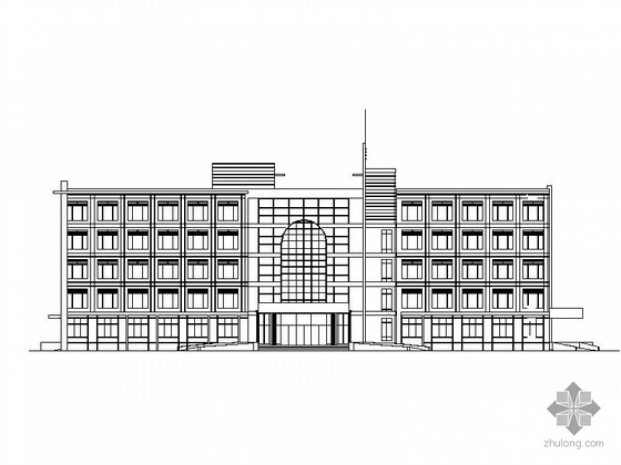 某五层专科医院建筑扩初图