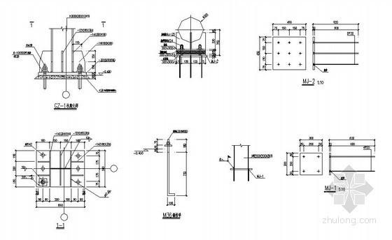 某钢结构大门方案设计图