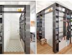 米兰:宽敞透亮的现代公寓