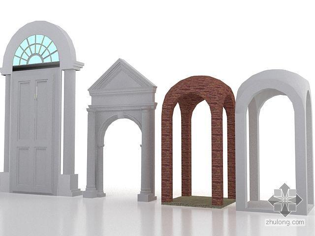 欧式构件-门框