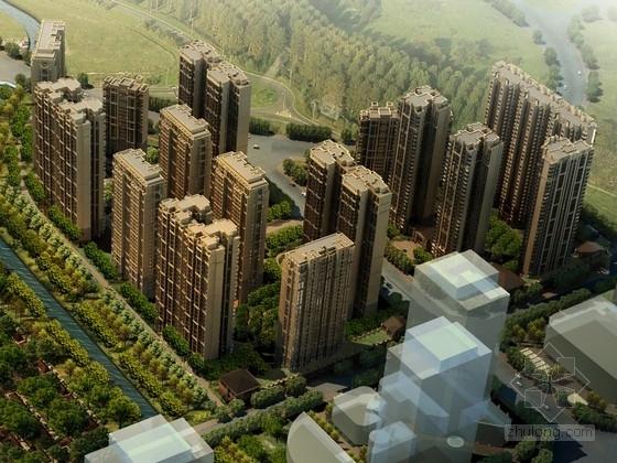 [成都]现代风格高档住宅公寓设计方案文本(含CAD)