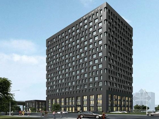 企业办公楼3D模型下载