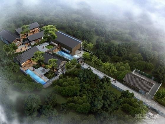 [重庆]景区仿古木构游客服务中心建筑设计方案文本
