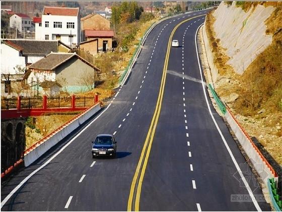 双向四车道公路维修改造施工图61张新规范(含排水管道 铣刨加罩)