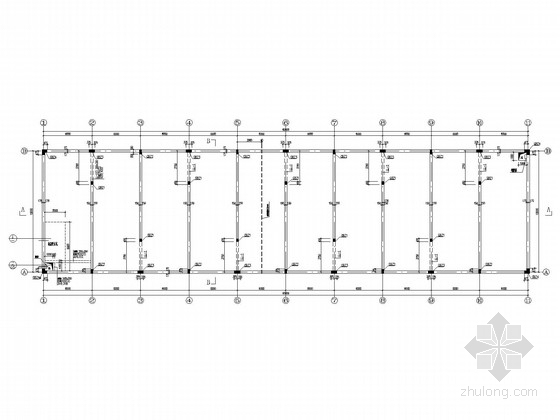 15米X60米蓄水池结构施工图