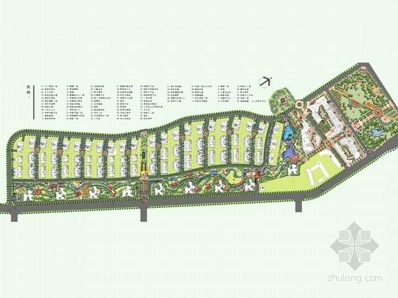[广州]英伦新古典风格别墅区景观设计方案(广州某著名景观公司设计)