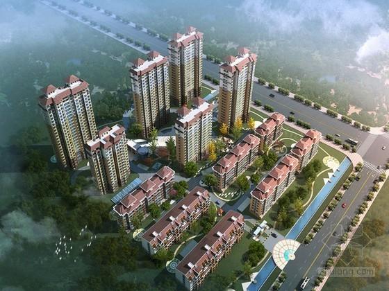 大型住宅楼群工程监理大纲130页(面积51万平米、含高层及多层建筑)