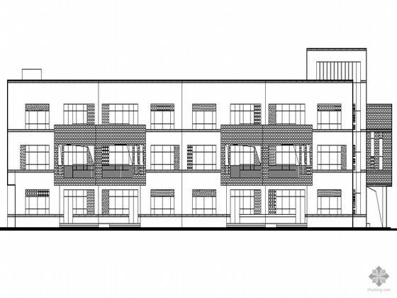 [安徽省安庆]某十二班幼儿园建筑施工图