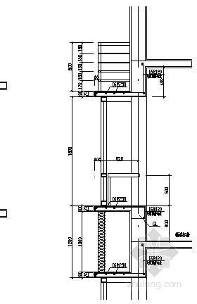 窗户阳台节点构造详图