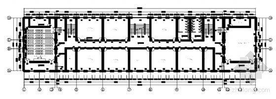 四川省某学校附属学院五层教学楼建筑施工图-3