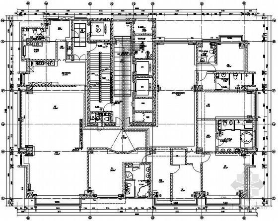 [内蒙古]商业综合楼采暖除尘施工图
