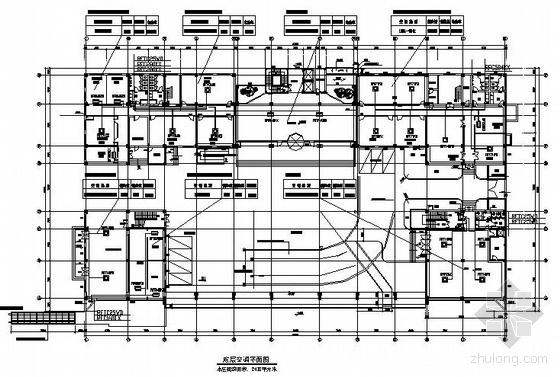 某办公楼空调平面设计图