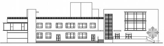 [郑州]某三层会所建筑扩初图