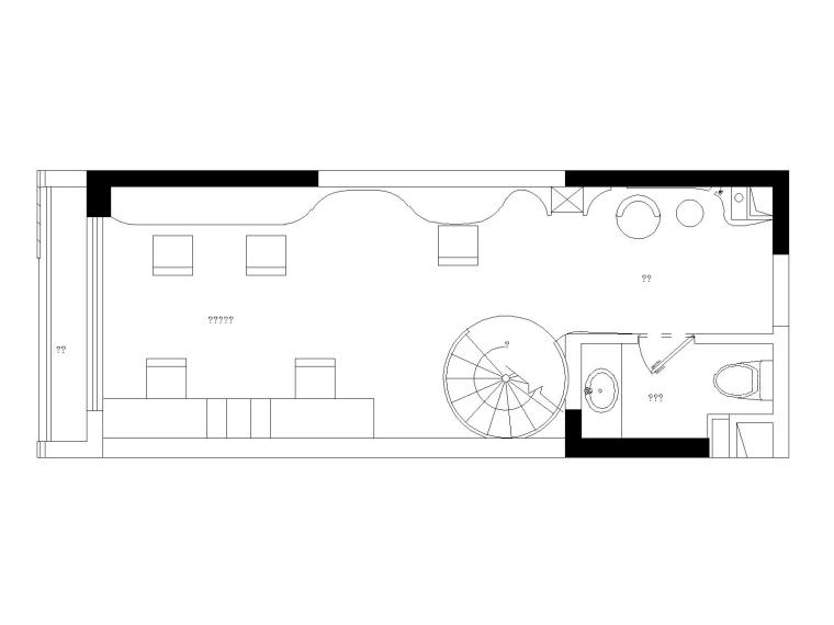 小型复式公寓爆改私人工作室全套施工图(附效果图)