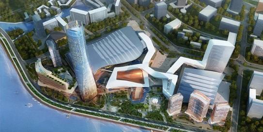 珠海十字门中央商务区BIM技术应用