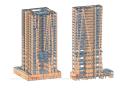 [辽宁]21层复杂超限高层建筑抗震性能分析论文