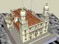 欧洲大教堂SU模型