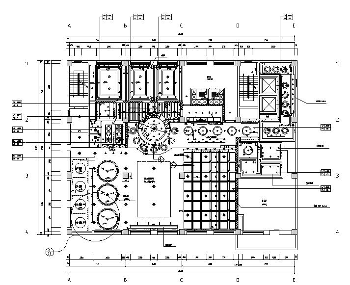 高档会所设计施工图(附照片及效果图)