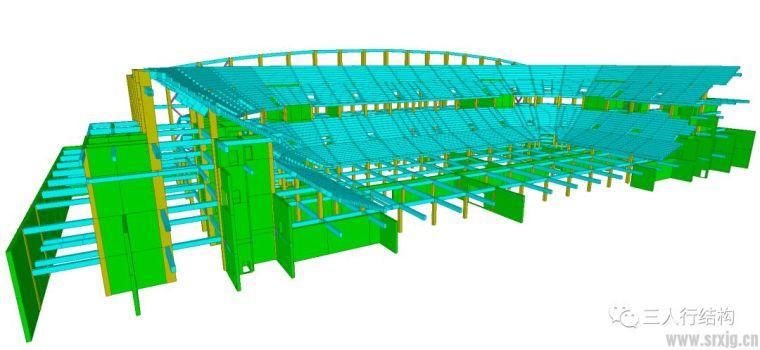 一个体育场馆结构的设计
