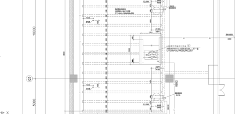 水泵房平面图和系统图