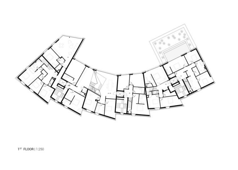 卢森堡山地上的集合住宅-11
