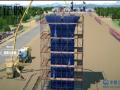 桥梁桩基+承台+墩身施工动画,看懂每一个施工细节