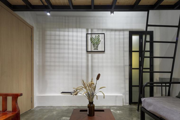 北京北海百年糖房改造-142-黑糖客房客厅区
