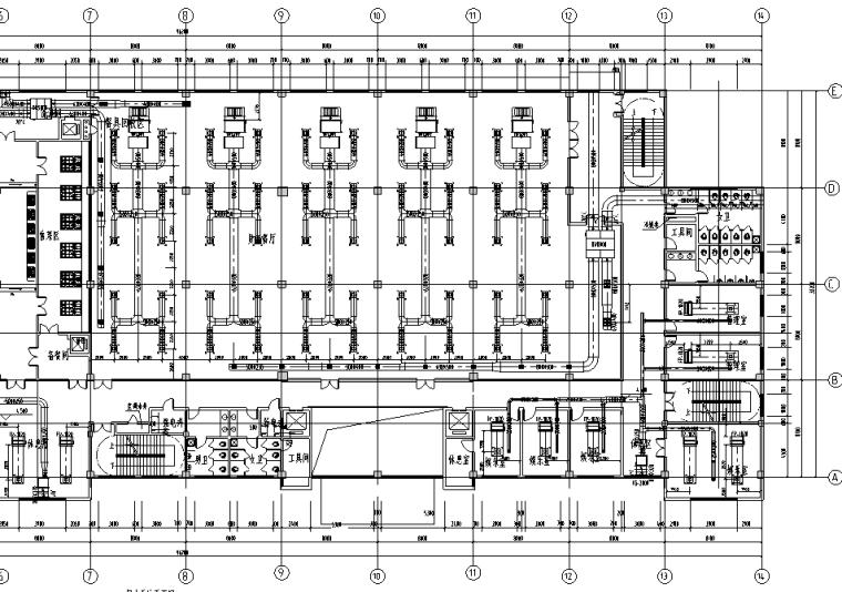 江西某地源热泵空调系统施工图(含地源热泵系统及大样等)_4