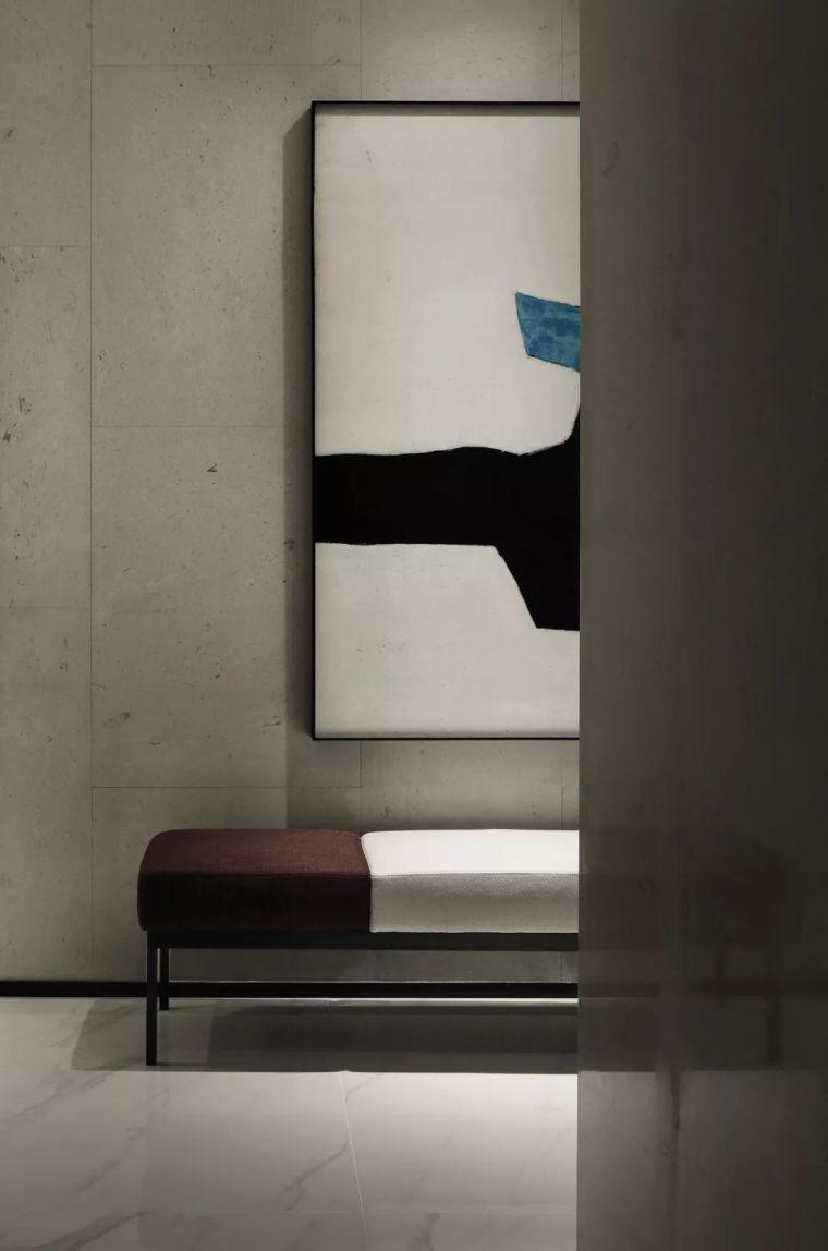质朴材质也能构建空间气质,顶级别墅样板间设计_9
