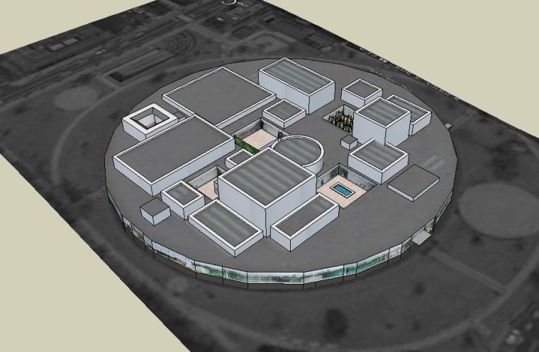 建筑设计大师妹岛和世SU模型合集(共3套)