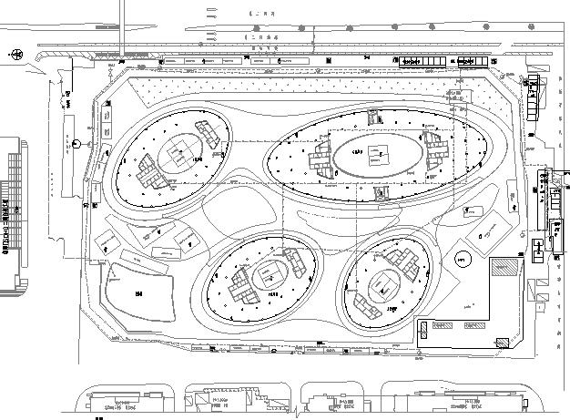 建筑工程施工现场平面布置图集锦(25个项目50余张图纸)