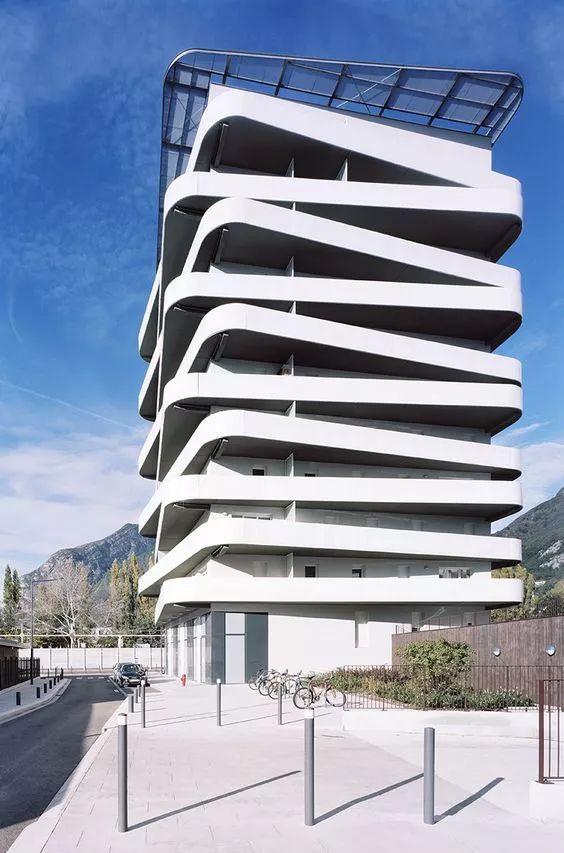 建筑造型欣赏-横向关系30例_6
