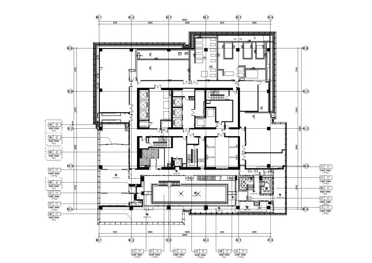 [杭州]柏悦酒店全套装修施工图
