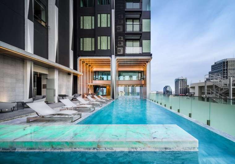 曼谷中心豪华公寓景观-087da11d