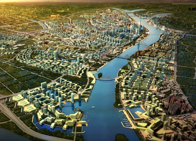 2019建筑竞赛资料下载-[广东]白鹅潭地区城市设计竞赛方案文本