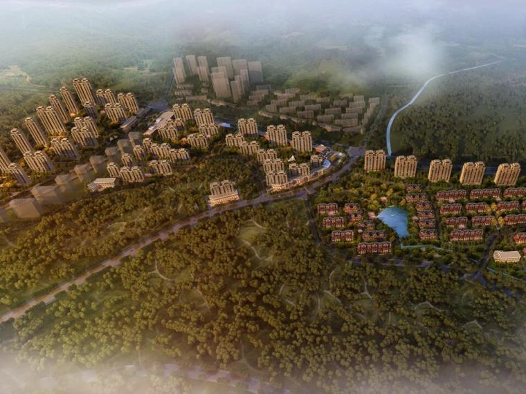 [山东]青岛海尔欧陆风格别墅居住区建筑设计(PPT+107页)