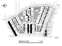 某小区居住区景观设计全套施工图(包含:艺术入口设计,给排水)