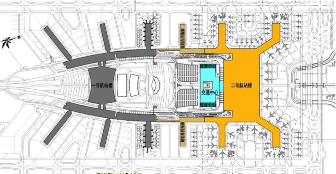 漫谈金属屋面的建筑设计应用(1)——广州新白云国际机场航站楼_5
