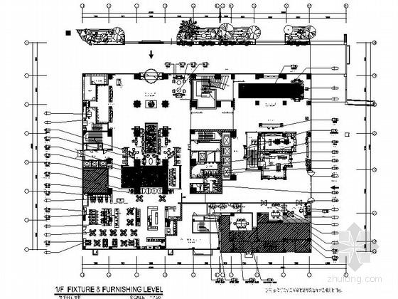 [福建]高档国际五星级酒店室内设计施工图(含实景)