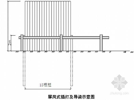 [广东]龙岗河治理基坑钢板桩支护与开挖安全施工方案