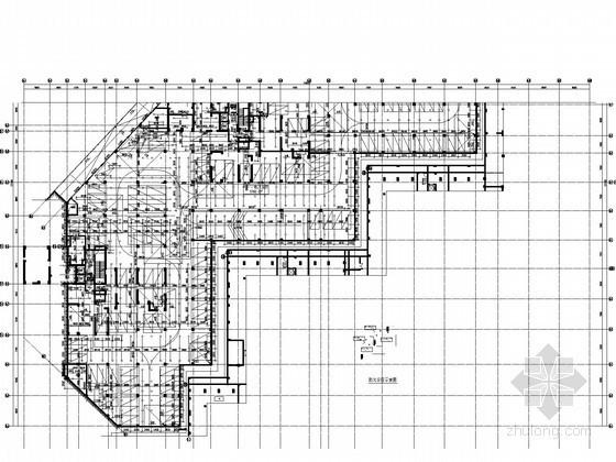[广东]高层商住小区建筑给排水施工图纸(水处理工艺 中水系统)