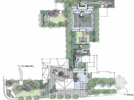 [苏州]新中式住宅景观规划设计方案