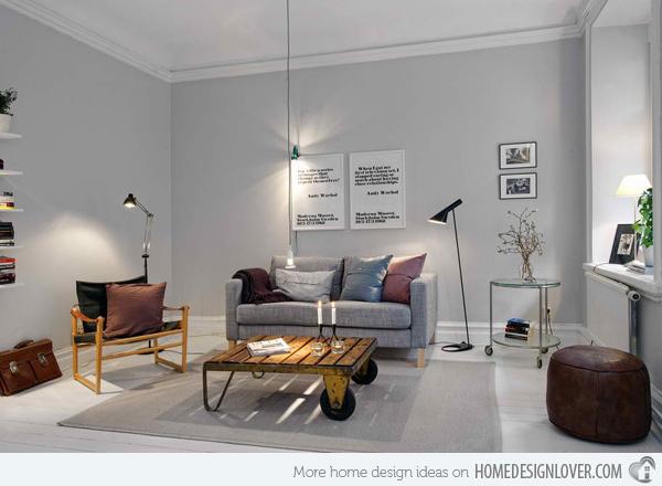 20个时尚的客厅装修设计案例_5