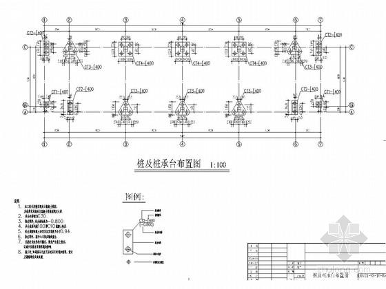[广州]地上五层框架结构学生宿舍结构施工图