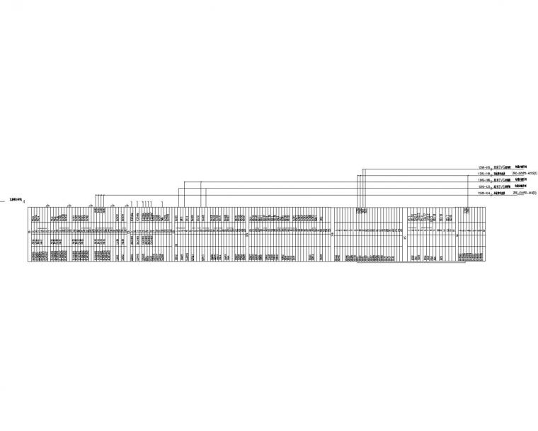 [山东]20兆瓦光伏农业科技大棚电站电气图(含无功补偿接线图)
