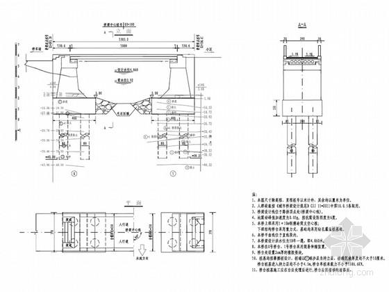 [浙江]钢筋混凝土空心板城市人行景观桥梁工程施工图设计